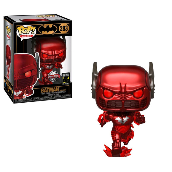 Batman - Red Death Pop! Vinyl