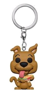 Scooby Doo - Scooby Doo with Sandwhich US Exclusive Pocket Pop! Vinyl Keychain
