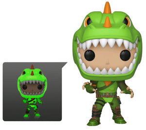 Fortnite - Rex Glow US Exclusive Pop! Vinyl