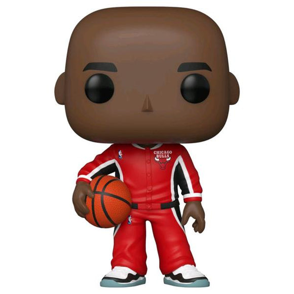 NBA: Bulls - Michael Jordan Red Warm-Ups US Exclusive Pop! Vinyl