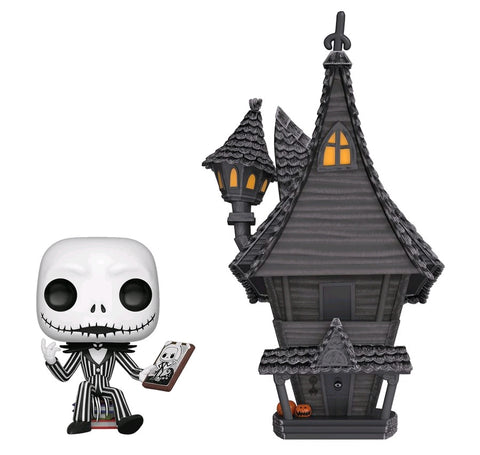 *Pre-order* The Nightmare Before Christmas - Jack with Jack's House Pop! Vinyl Town (ETA Sept)
