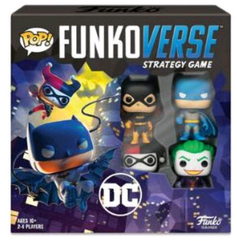 Funkoverse - Batman 4-pack Strategy Pop! Vinyl Board Game