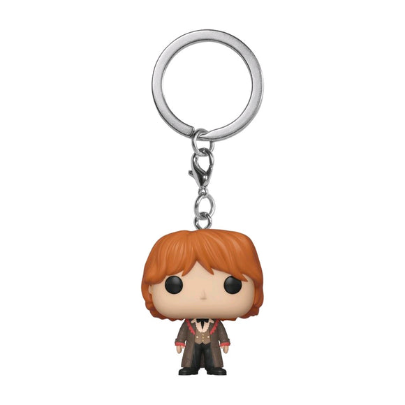 Harry Potter - Ron Weasley Yule Pocket Pop! Vinyl Keychain