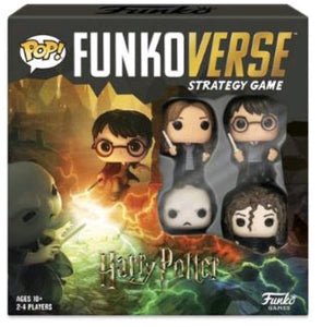 Funkoverse - Harry Potter 4-pack Strategy Pop! Vinyl Board Game