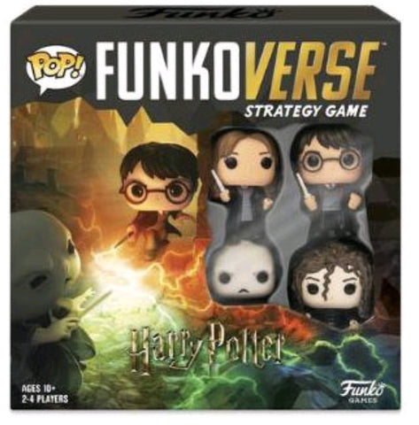 *Pre-order* Funkoverse - Harry Potter 4-pack Strategy Pop! Vinyl Board Game (ETA October)