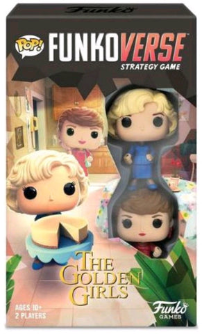 Funkoverse - Golden Girls 2-pack Expandalone Strategy Pop! Vinyl Board Game