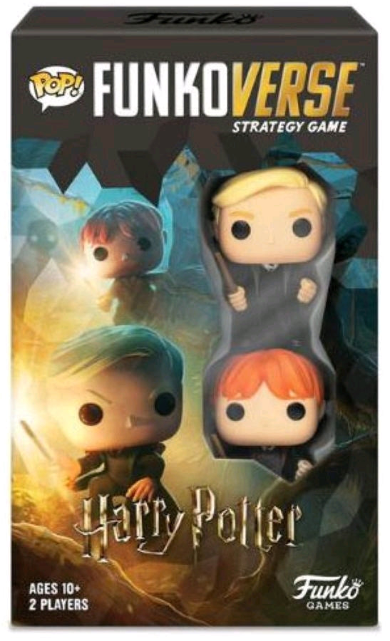 Funkoverse - Harry Potter 2-pack Expandalone Strategy Pop! Vinyl Board Game