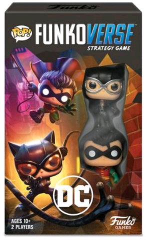 Funkoverse - Batman 2-Pack Expandalone Strategy Pop! Vinyl Board Game