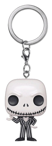 *Pre-order* The Nightmare Before Christmas - Jack Skellington Metallic Pocket Pop! Vinyl Keychain (ETA Sept)