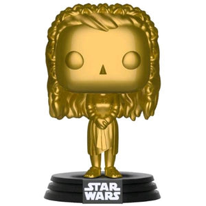 Star Wars - Princess Leia Gold Metallic US Exclusive Pop! Vinyl