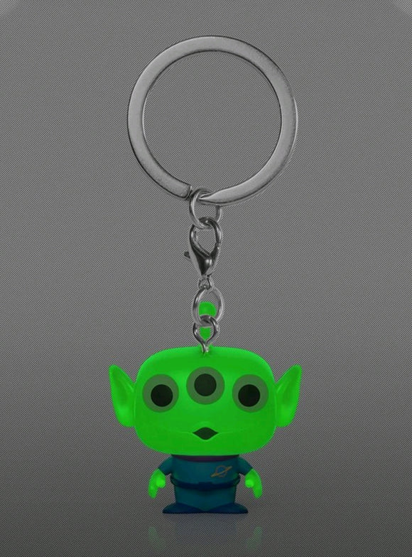 Toy Story 4 - Alien Glow US Exclusive Pocket Pop! Vinyl Keychain