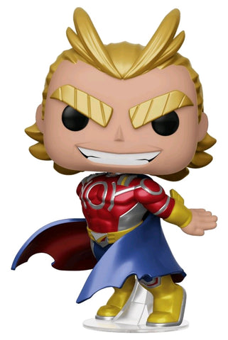 *Pre-order* My Hero Academia - All Might Metallic US Exclusive Pop! Vinyl (ETA September)