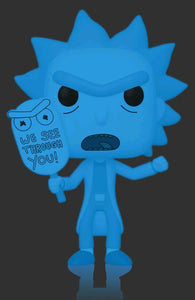 Rick & Morty - Hologram Rick (See You) Glow US Exclusive Pop! Vinyl