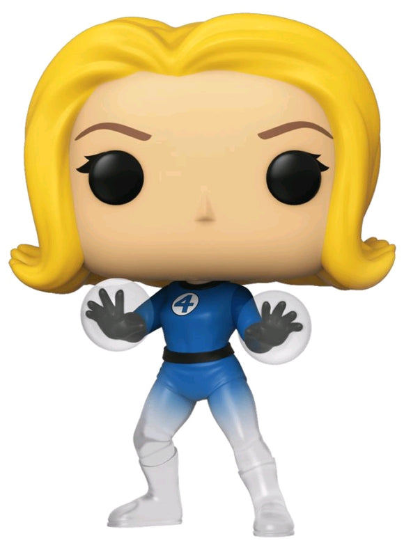 *Pre-order* Fantastic Four - Invisible Girl Translucent US Exclusive Pop! Vinyl (ETA February)