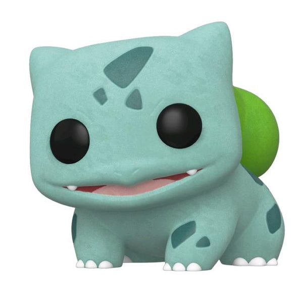 Pokemon - Bulbasaur Flocked Pop! Vinyl EC20