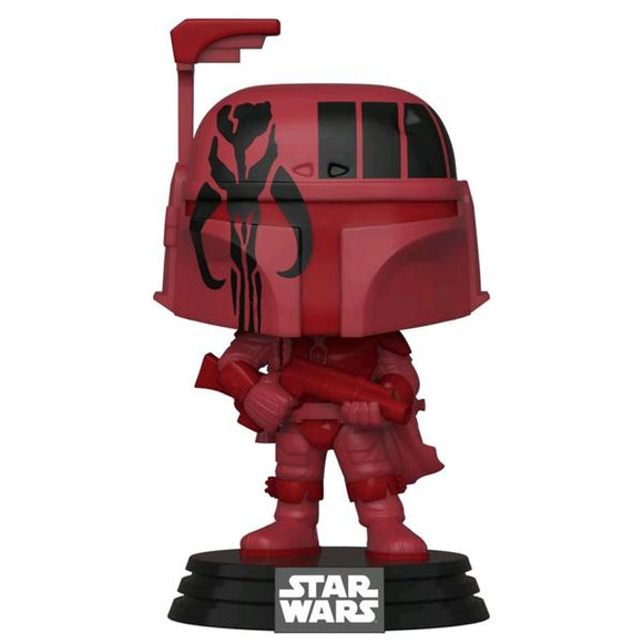 Star Wars - Boba Fett Burgundy US Exclusive Pop! Vinyl WC20