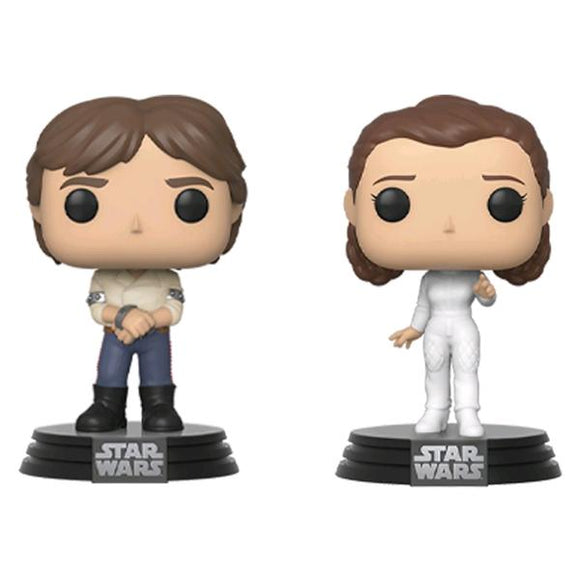 *Pre-order* Star Wars - Han & Leia Pop! Vinyl 2pk (ETA March)