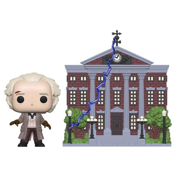 *Pre-order* Back to the Future - Doc with Clock Tower Pop! Vinyl Town (ETA June)