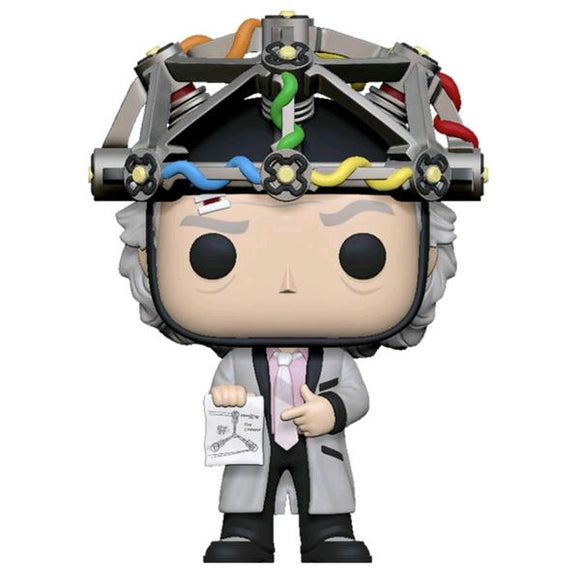 *Pre-order* Back to the Future - Doc with Helmet Pop! Vinyl (ETA June)