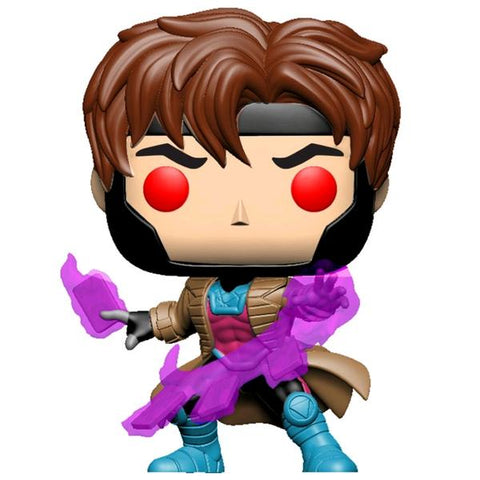 *Pre-order* X-Men - Gambit with cards Translucent Glow US Exclusive Pop! Vinyl (ETA March)