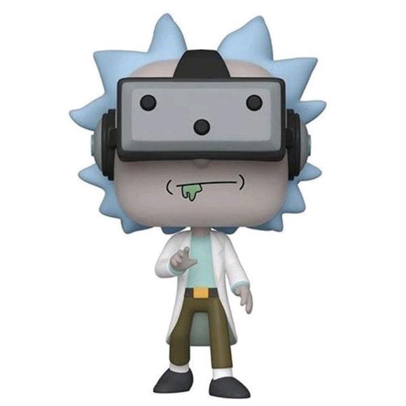 Rick and Morty - Rick Gamer US Exclusive Pop! Vinyl