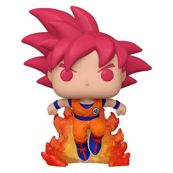 Dragon Ball Z - Super Saiyan God Goku with flames Pop! Vinyl SD20