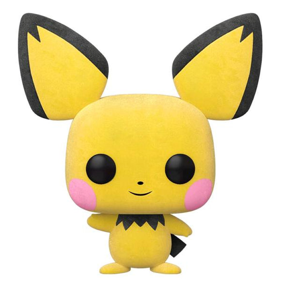 Pokemon - Pichu Flocked Pop! Vinyl WC20