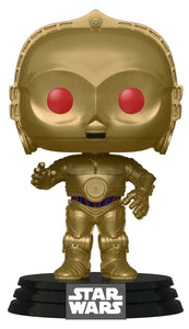 Star Wars - C-3PO Red Eyes Metallic Episode IC Rise of Skywalker Pop! Vinyl