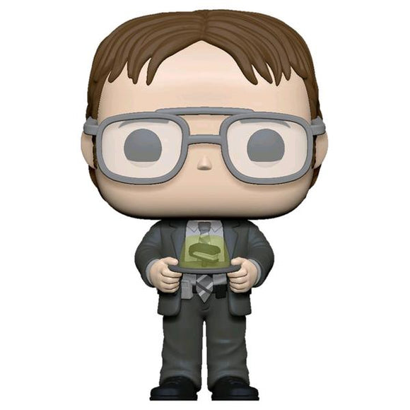 *Pre-order* The Office - Dwight with Jello Stapler Pop! Vinyl (ETA May)