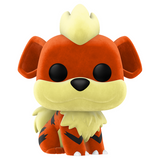 Pokemon - Growlithe Flocked Pop! Vinyl NY20