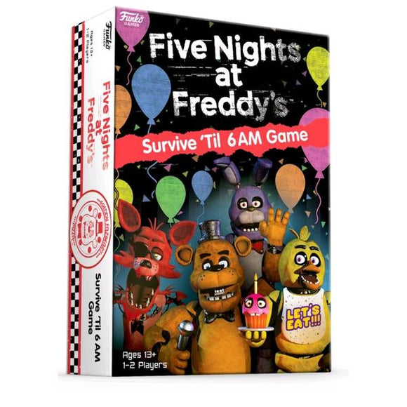 *Pre-order* Five Nights at Freddy's - Survive 'til 6am Game (ETA October)