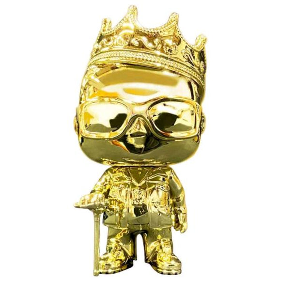 Notorious BIG - Biggie Gold Chrome US Exclusive Pop! Vinyl