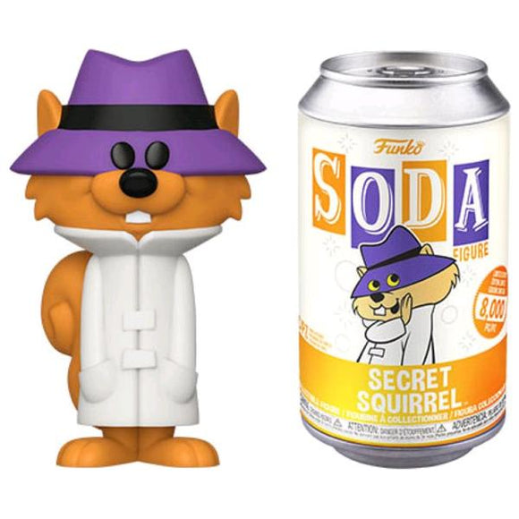 *Pre-order* Secret Squirrel - Secret Squirrel Vinyl Soda (ETA December)