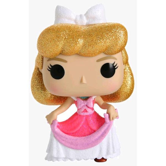 *Pre-order* Cinderella - Cinderella Pink Dress Diamond Glitter US Exclusive Pop! Vinyl (ETA October)