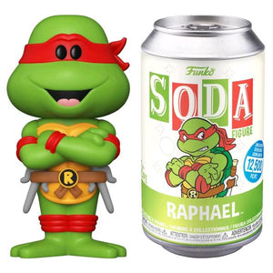 Teenage Mutant Ninja Turtles - Raphael Vinyl Soda
