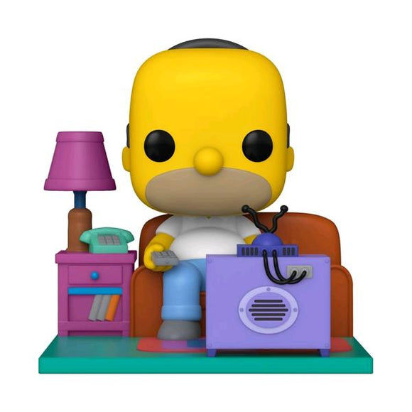 *Pre-order* The Simpsons - Homer watching TV Pop! Vinyl Deluxe (ETA December)