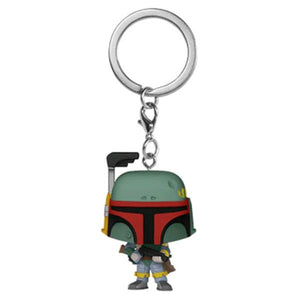 *Pre-order* Star Wars - Boba Fett Pocket Pop! Vinyl Keychain (ETA May)