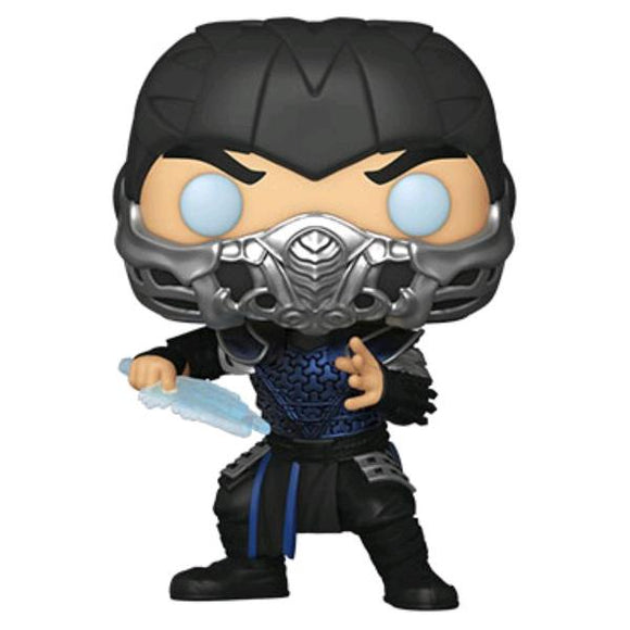 *Pre-order* Mortal Kombat (2021) - Sub-Zero Metallic Pop! Vinyl (ETA May)