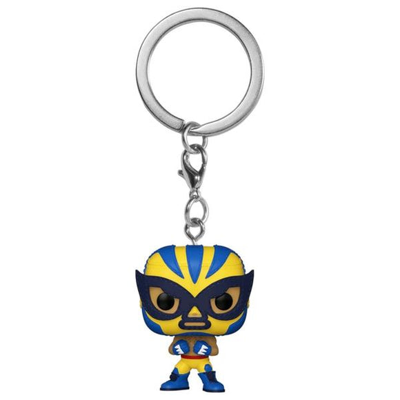 *Pre-order* X-Men - Luchadore Wolverine Pocket Pop! Vinyl Keychain (ETA December)