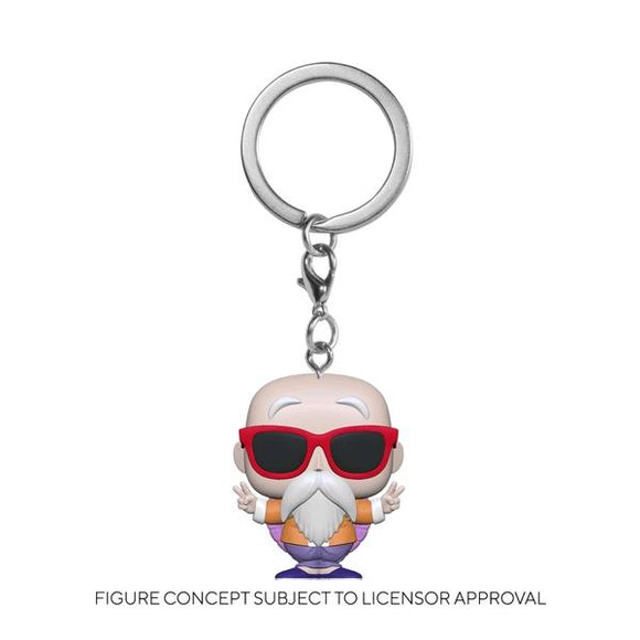 *Pre-order* Dragon Ball Z - Master Roshi Peace Pocket Pop! Keychain (ETA April)