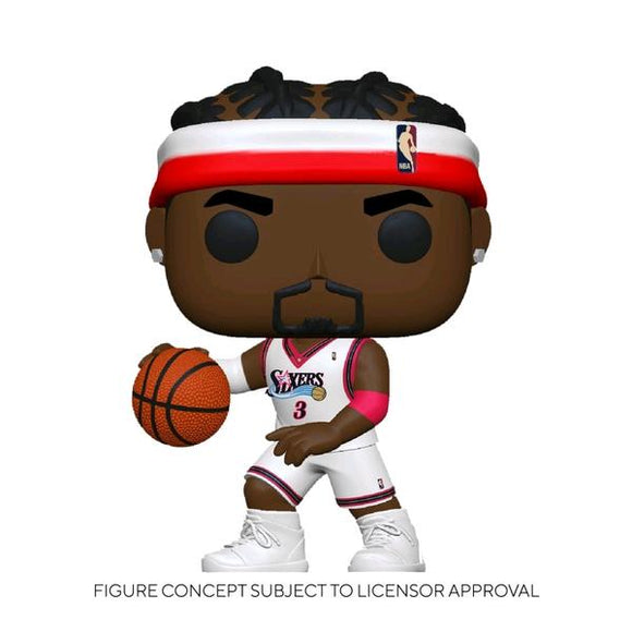 *Pre-order* NBA: Legends - Allen Iverson (Sixers Home) Pop! Vinyl (ETA May)