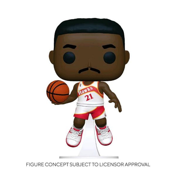 *Pre-order* NBA: Legends - Dominique Wilkins Hawks Home Pop! Vinyl (ETA May)