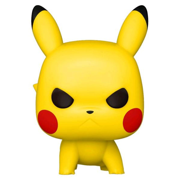 *Pre-order* Pokemon - Pikachu (Angry Crouching) Pop! Vinyl (ETA May)