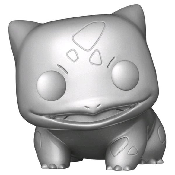 *Pre-order* Pokemon - Bulbasaur Silver Metallic 25th Anniversary Pop! Vinyl (ETA May)