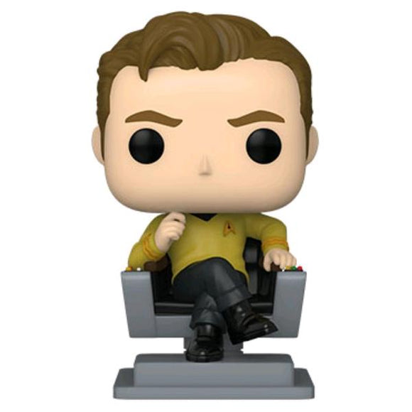 *Pre-order* Star Trek: The Original Series - Captain Kirk in Chair Pop! Vinyl (ETA May)