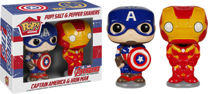 Iron Man / Captain America - Pop! Salt & Pepper Shakers