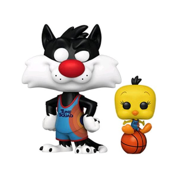 *Pre-order* Space Jam 2: A New Legacy - Sylvester & Tweety Pop! Vinyl (ETA May)