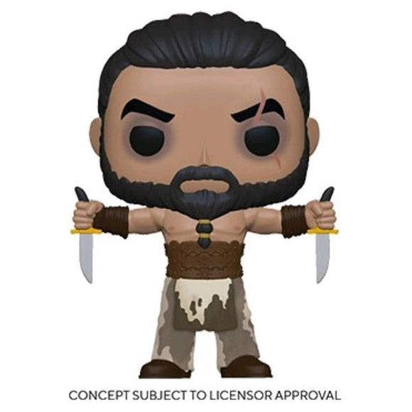 *Pre-order* Game of Thrones - Khal Drogo with Daggers Pop! Vinyl (ETA July)