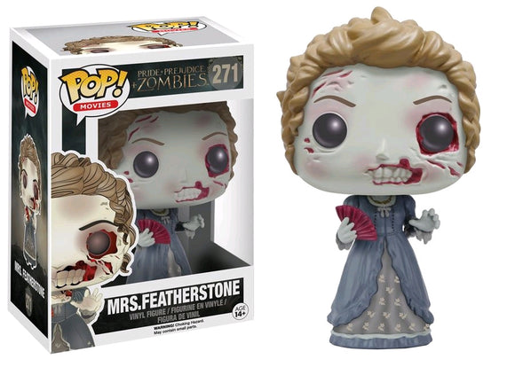 Pride and Prejudice and Zombies - Mrs Featherstone Pop! Vinyl