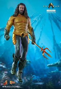 "Aquaman - Hot Toys 12"" 1:6 Scale Action Figure"